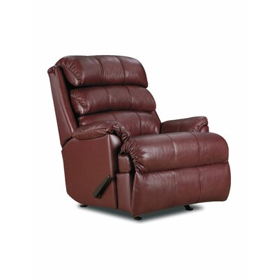 Revive Zero Gravity Recliner Color: Red