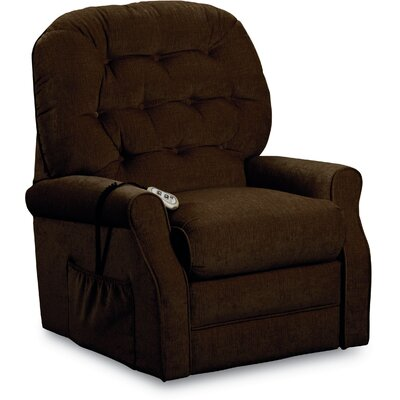 Joann Power Lift Chair Color: Chocolate