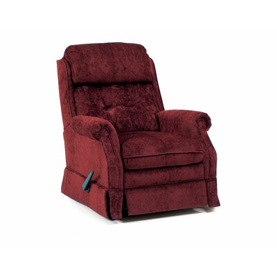 Carolina Chaise   Recliner Color: Burgundy