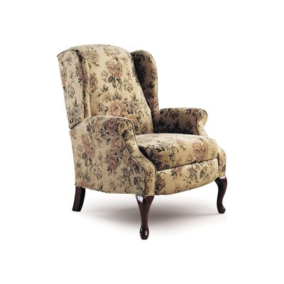 Hampton Wing Recliner Color: Floral
