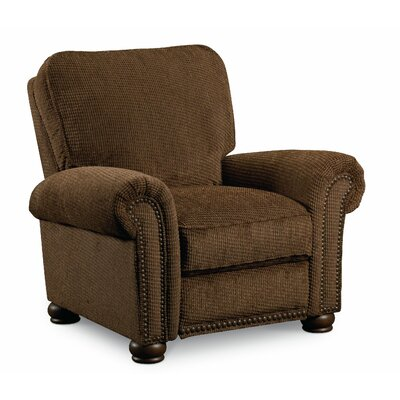 Benson Recliner Color: Brown