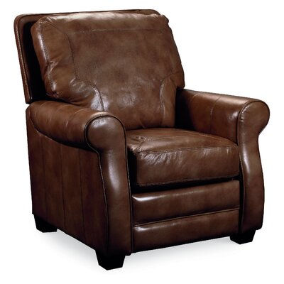 Bowden Recliner Color: Brown