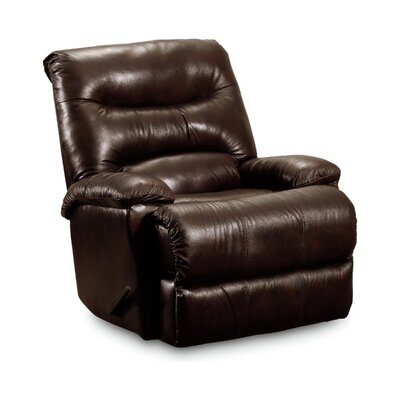 Wyatt Zero Gravity Recliner Color: Chocolate