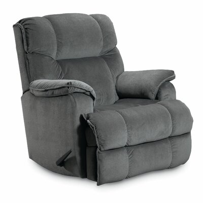 Rancho Comfort King� Chaise  Recliner Color: Blue