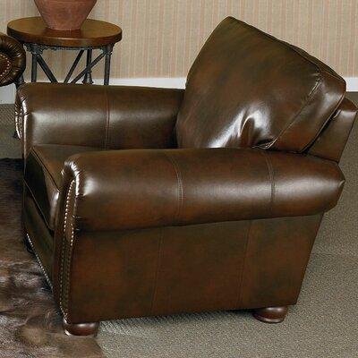 Benson Chair Color: Light Brown