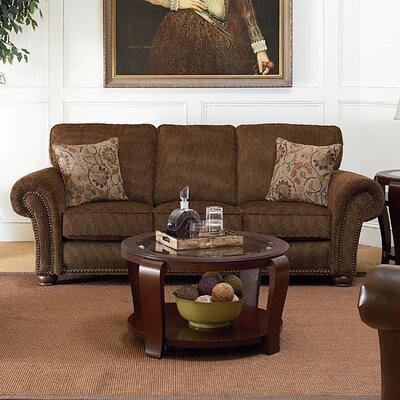 Benson Sofa Color: Brown