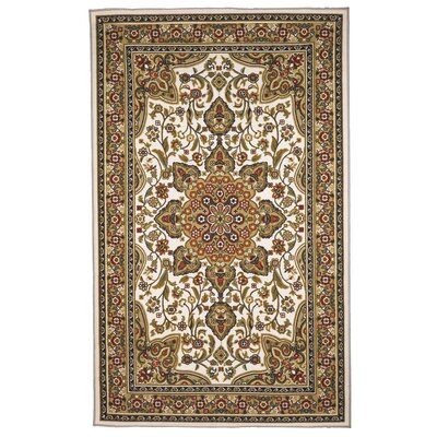 Oriental Floral Area Rug Rug Size: 5 x 8