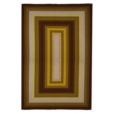 Contemporary Stripe Area Rug Rug Size: 5 x 8