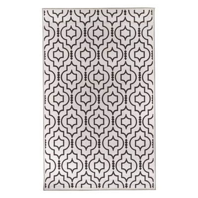 Medallion Beige & Brown Area Rug Size: 5 x 8