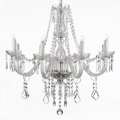 Holton 8-Light Crystal Chandelier