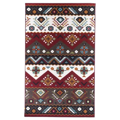 Moretti Southwestern Area Rug Rug Size: Rectangle 5 x 8