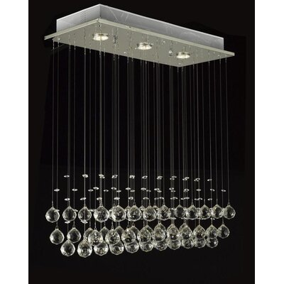 Borel 3-Light Flush Mount