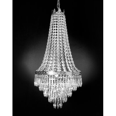 French 4-Light Empire Chandelier