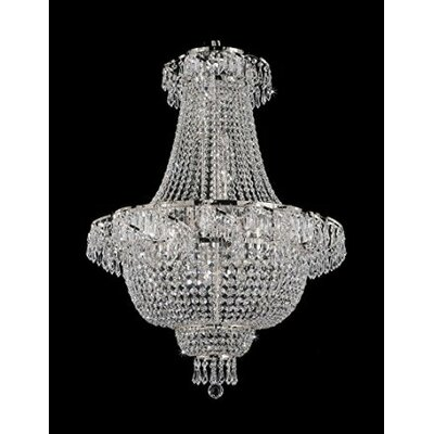 French 9-Light Empire Chandelier
