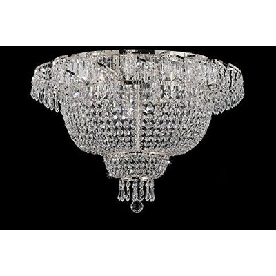 Charvi 6-Light Flush Mount