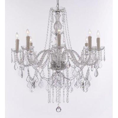 Lanphear 8-Light Crystal Chandelier