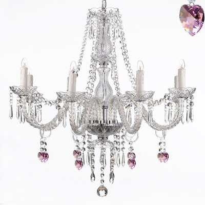 Lantana 8-Light Crystal Chandelier