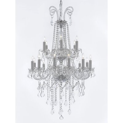 Royal 18-Light Crystal Chandelier