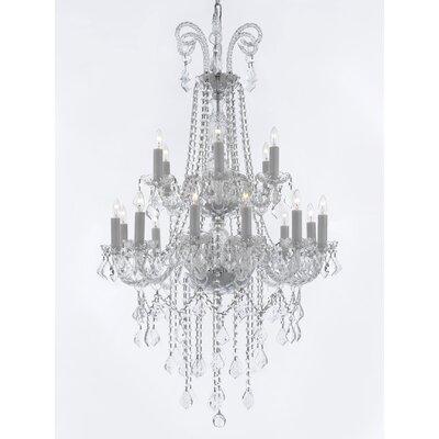 Royal 18-Light Crystal Chandelier