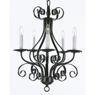 Huskins 5-Light Candle-Style Chandelier
