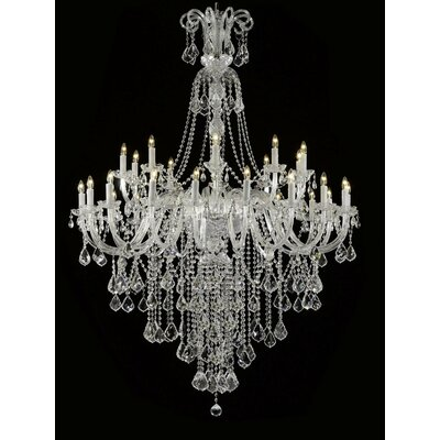 Royal 30-Light Crystal Chandelier