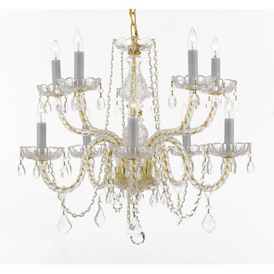 Lapan 10-Light Crystal Chandelier