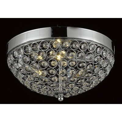 Huson 3-Light Flush Mount