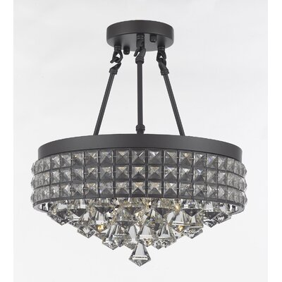Adriana 4-Light Crystal Chandelier