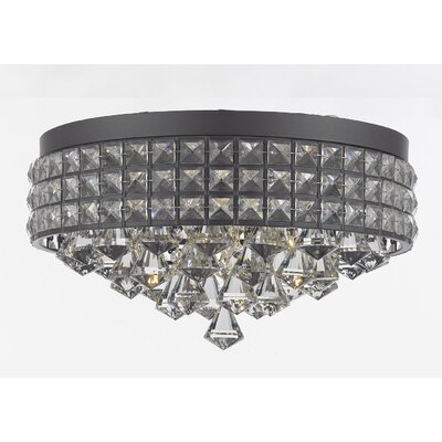Laperle 4-Light Flush Mount