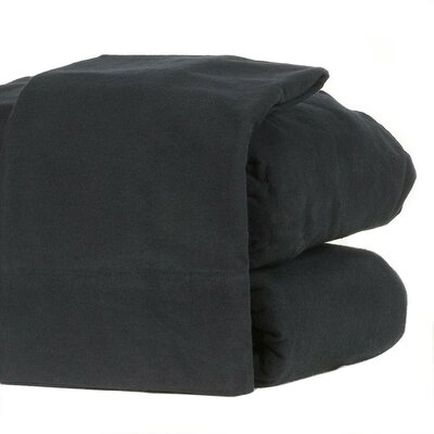 100% Cotton Sheet Set Color: Dark Navy, Size: Full