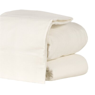100% Cotton Sheet Set Size: Full, Color: White