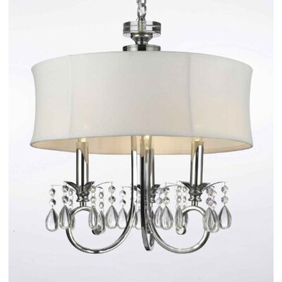 Hutchcraft 3-Light Drum Chandelier