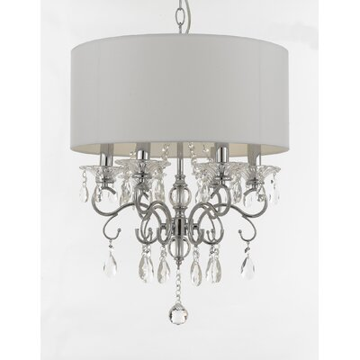 Hutchens 6-Light Drum Chandelier