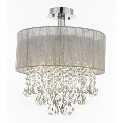 Larabee 4-Light Flush Mount