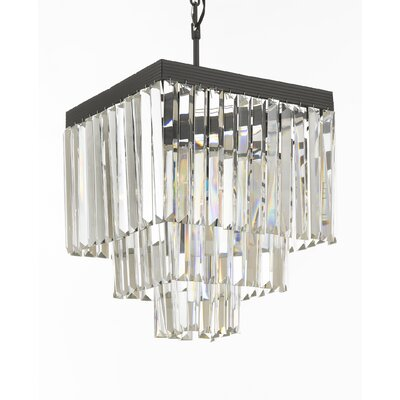 Larrison 4-Light Crystal Chandelier