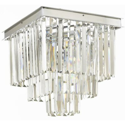 Larrison 4-Light Flush Mount