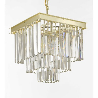 Larrick 4-Light Crystal Chandelier