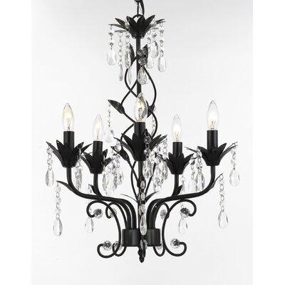 Huth 5-Light Candle-Style Chandelier