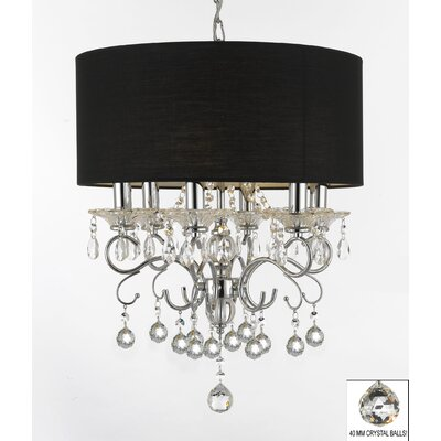 Hyden 6-Light Drum Chandelier