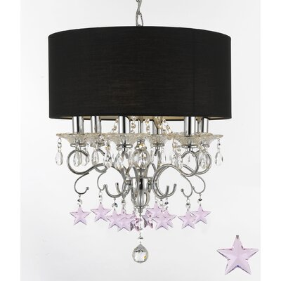 Hyler 6-Light Drum Chandelier