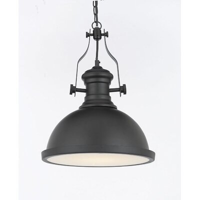 Pires 1-Light Inverted Pendent