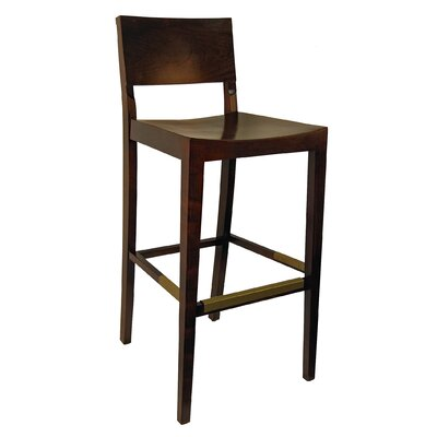 Maddision 30.5 Barstool Finish: Dark Walnut