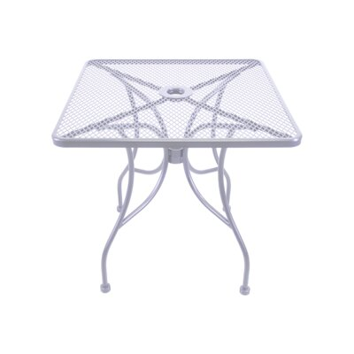 Mesh Dining Table Table Size: 30 L x 30 W