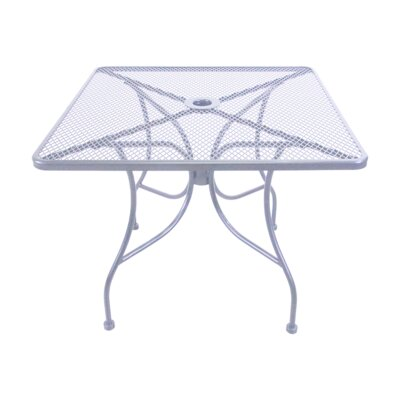 Mesh Dining Table Table Size: 36 L x 36 W