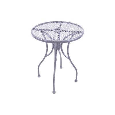 Mesh Dining Table Table Size: 24 L x 24 W