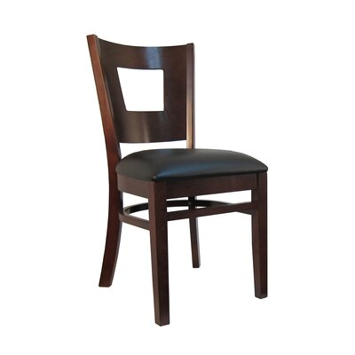 Wood Upholstered Dining Chair (Set of 2)