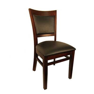 Sloan Upholstered Dining Chair Frame Finish: Dark Walnut