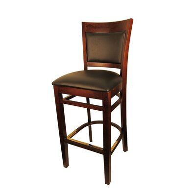 Sloan 30.5 Bar Stool Frame Color: Dark Walnut
