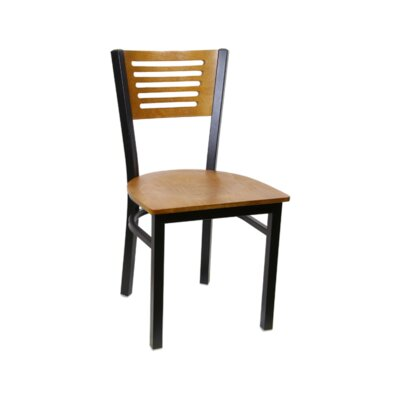 Solid Wood Dining Chair (Set of 2) Color: Cherry