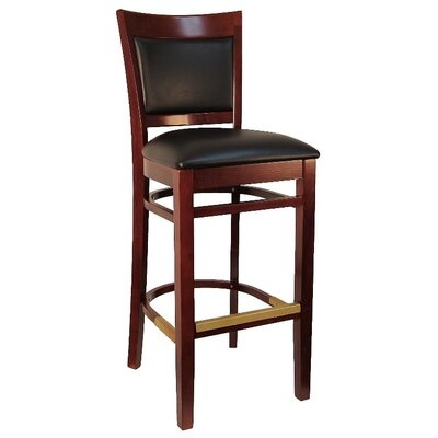 Sloan 30.5 Bar Stool Frame Color: Dark Mahogany